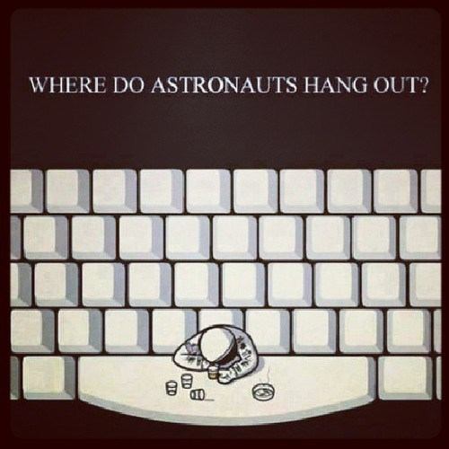 puns astronauts space bar funny - 7544702464