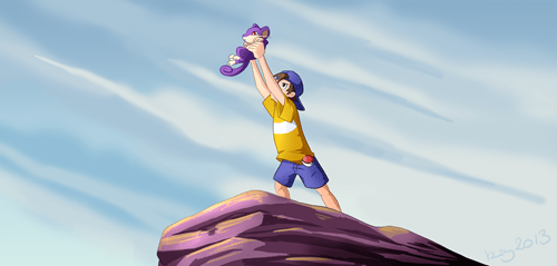 youngster joey art top percentage rattata lion king - 7544857344