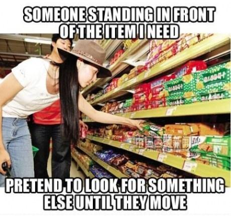 groceries shopping Awkward - 7544916480