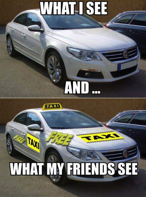 friends,cars,taxi
