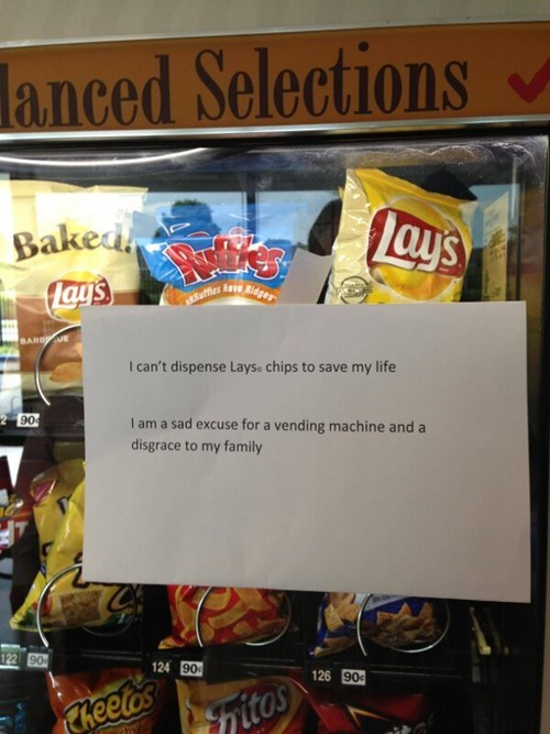 vending machines ruffles potato chips Lays - 7544936704