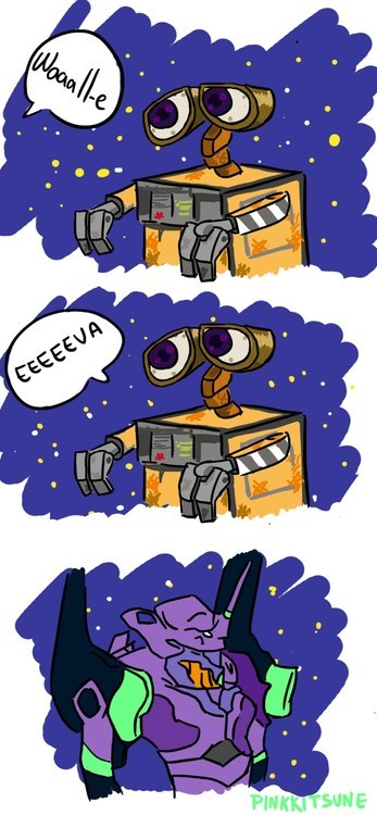 I Kept Imagining This Every Time Wall-E Said