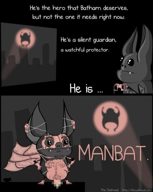creepy comic manbat funny - 7545203456