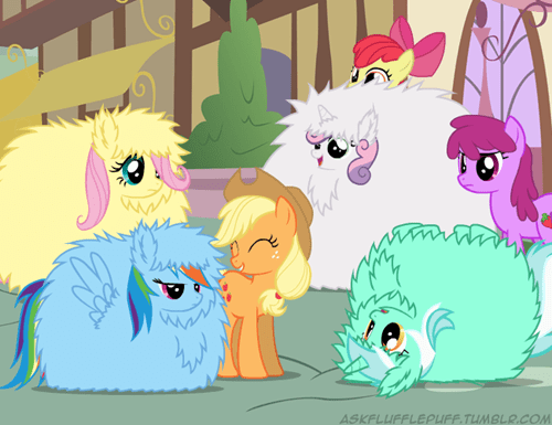 fluffle puff Fluffy dawww cute mane six - 7545279744