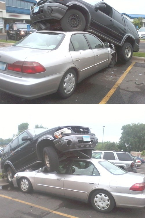 cars what funny parking - 7545370368