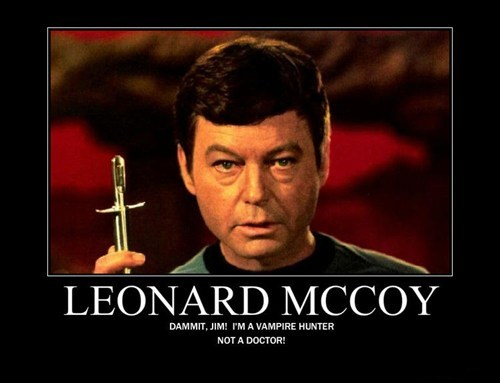 vampire McCoy Star Trek funny - 7545381376
