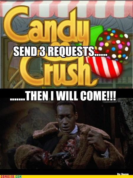 scary,candyman,tony todd,facebook,funny