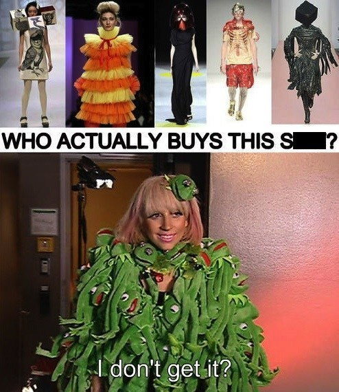 kermit the frog Music fashion lady gaga funny - 7546255616