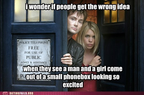 tardis nerdgasm doctor who funny dating fails g rated - 7546300416