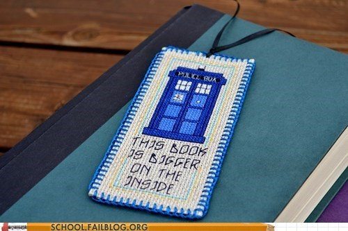 bookmark doctor who book funny school g rated - 7546310912