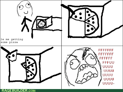 pizza slice of pizza funny - 7546707200