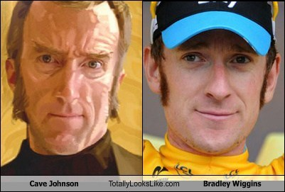 totally looks like Cave Johnson bradley wiggins funny - 7546829568