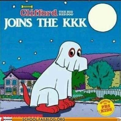 wtf Clifford book kkk funny - 7546957312
