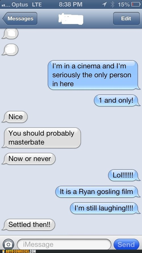 Ryan Gosling funny movie theatres - 7547092992