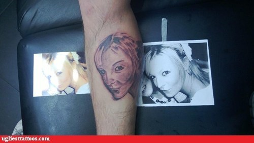 FAIL,tattoos,portrait,funny