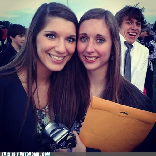 photobomb graduation funny