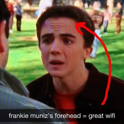 wifi totally looks like Frankie Muniz - 7548055040