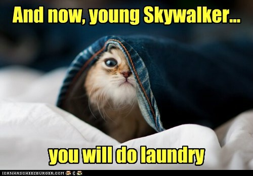 laundry,star wars,skywalker,funny
