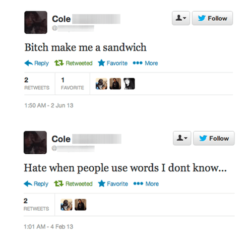 make me a sandwich,sexism,twitter,chauvinism,douchebags,funny,sexist,failbook,dating