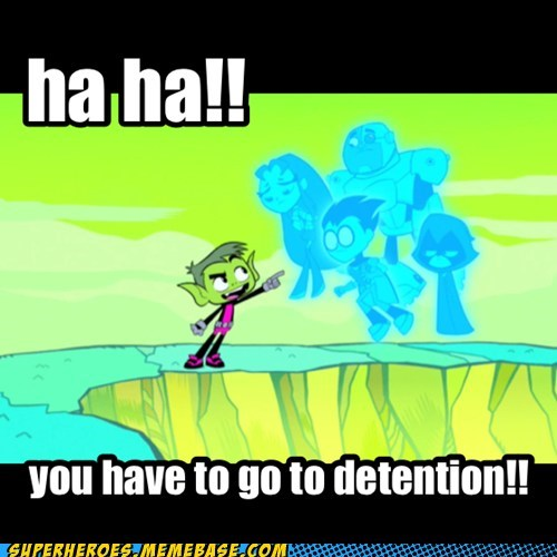 detention teen titans funny - 7548171776