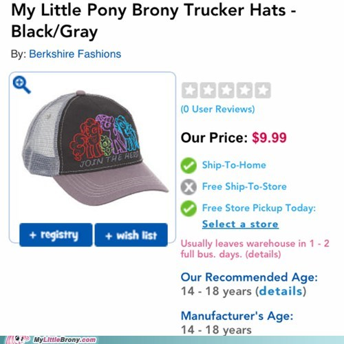Bronies awesome hats - 7548264448
