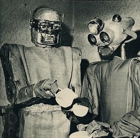 drinking wtf robots tea funny - 7548364288