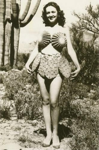 wtf,cactus,dress,funny,vintage