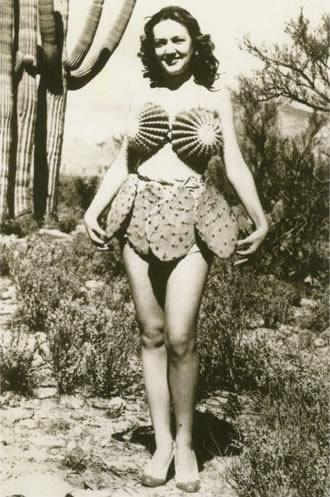 wtf cactus dress funny vintage - 7548365568