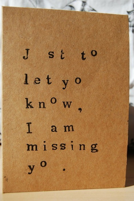 puns missing you keyboards greeting card funny - 7548402432