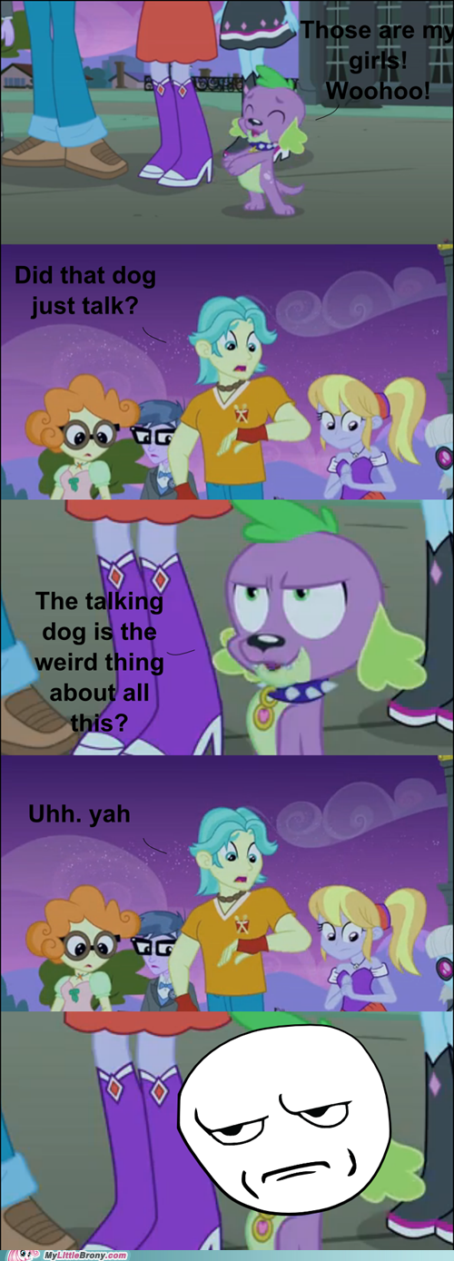 spike dogs equestria girls - 7548415744