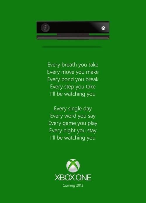 kinect,the police,xbox one
