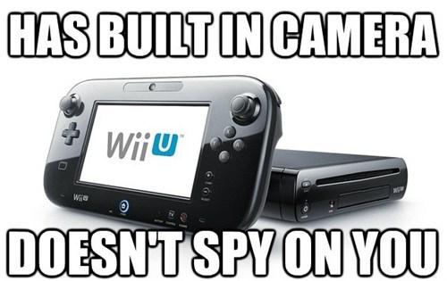 privacy,wii U,cameras