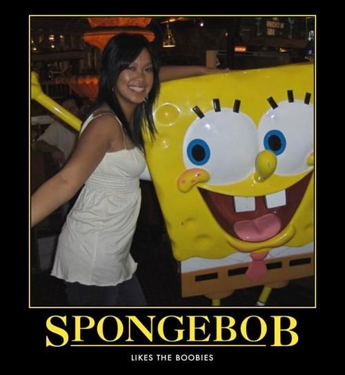 SpongeBob SquarePants bewbs funny - 7548520448