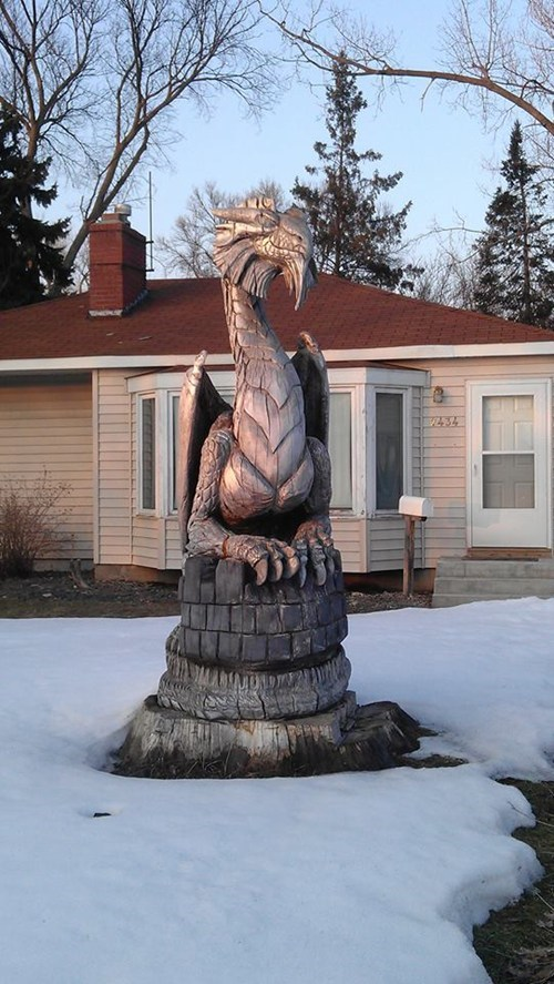 dragon,art,sculpture,nerdgasm,carving,DIY,g rated,win
