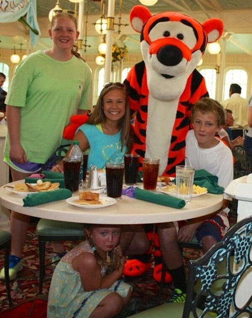 tigger,scared kids,funny,winnie the pooh