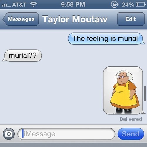 autocorrect,muriel,courage the cowardly dog,funny,g rated,AutocoWrecks