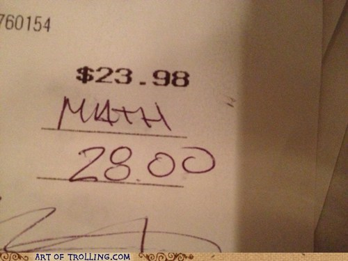 tipping math receipt - 7549480448
