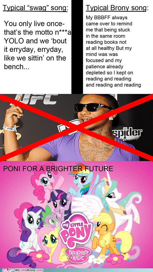 Bronies swag poni my little pony - 7549682432