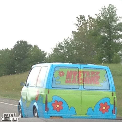 Look who we found Scooby!