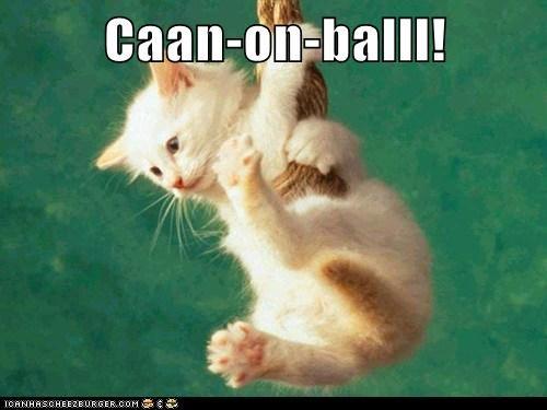 Caan-on-balll!