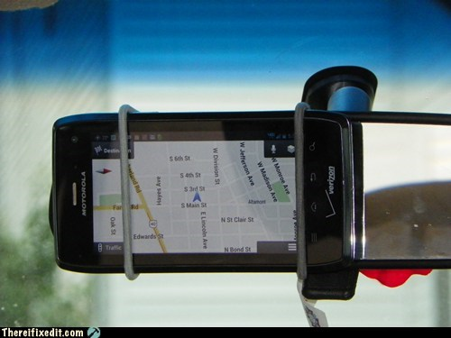 gps car fixes funny