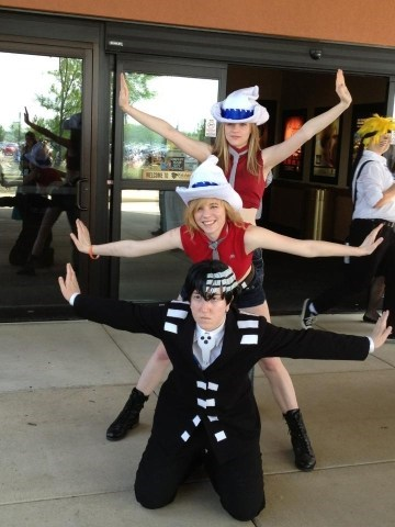cosplay anime soul eater death the kid - 7552241408