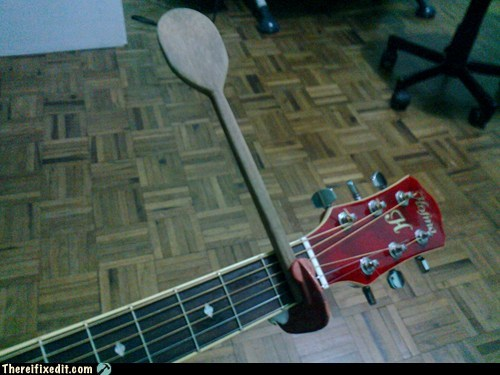 guitars spoons capos funny musicians - 7552371712
