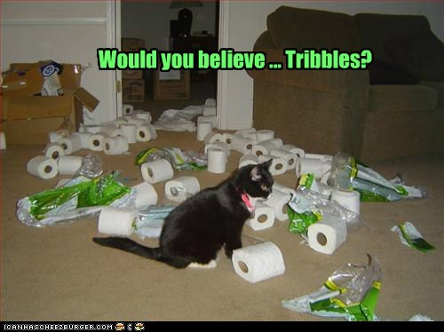 Would you believe ... Tribbles?