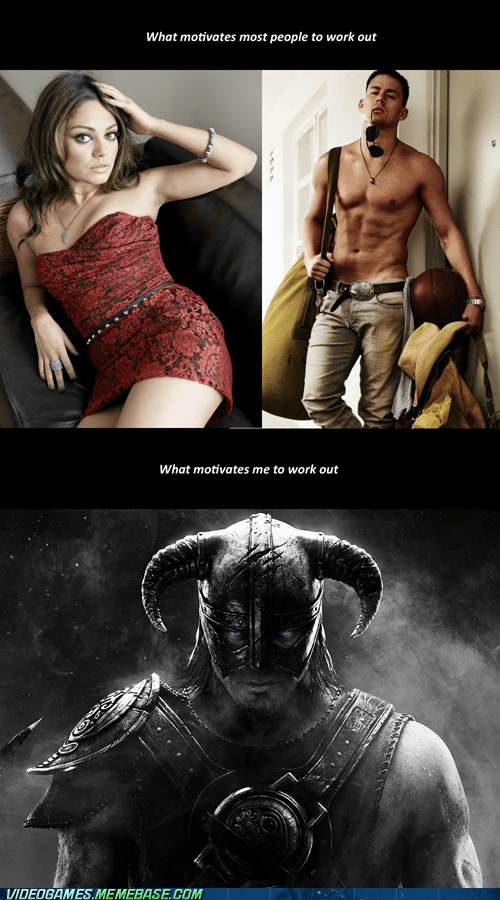 video games Skyrim role models