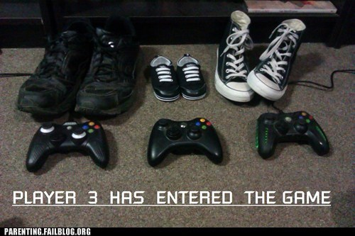 Babies,gamers,Videogames,baby announcements,funny,g rated,parenting