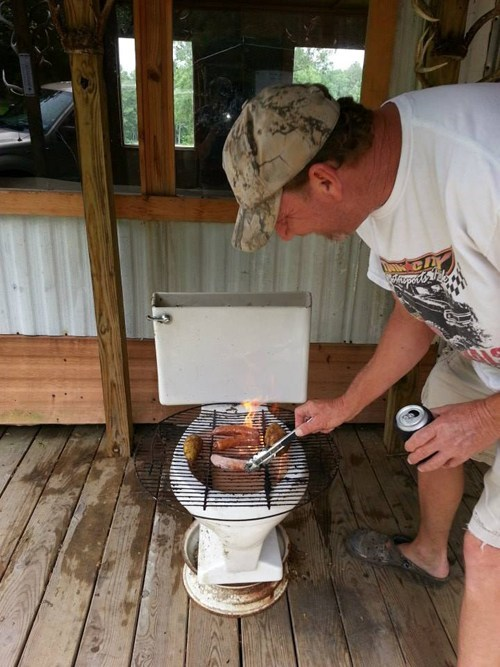 grill,toilet,funny,there I fixed it,g rated