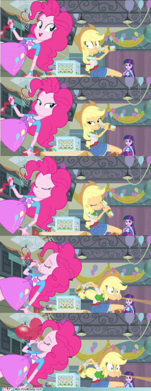 levitation equestria girls pinkie pie screw physics - 7554034688