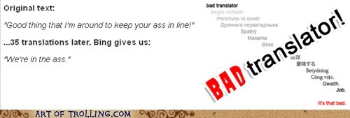 Bad Translator the ass ass - 7554383872