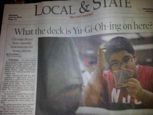Yu-Gi-Oh! puns headlines funny - 7554893568